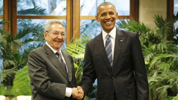 Barack Obama y Raúl Castro en la Habana, durante la visita del mandatario estadounidense a la Isla (Reuters)