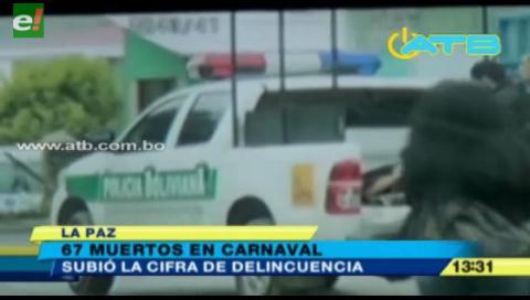 Carnaval 2017 deja 67 muertos, mucho más que el año pasado