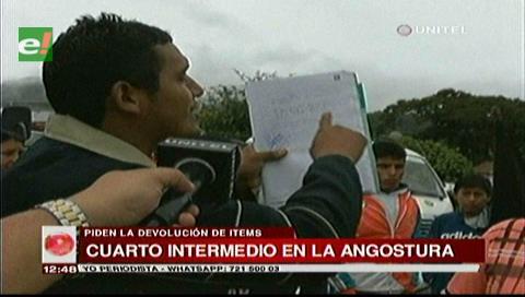 Desbloquean carretera en La Angostura tras acuerdo