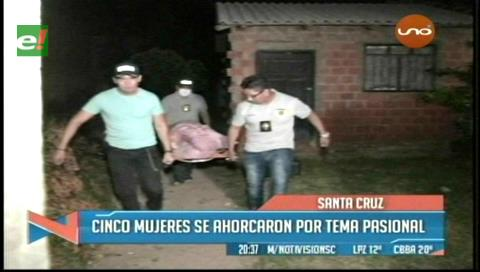 Cinco mujeres se suicidaron en Santa Cruz en las últimas dos semanas