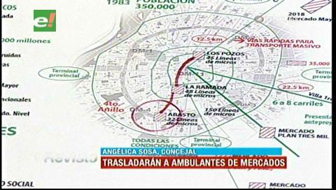 Concejal Sosa confirma que gremiales de Los Pozos serán trasladados a la avenida Alemana