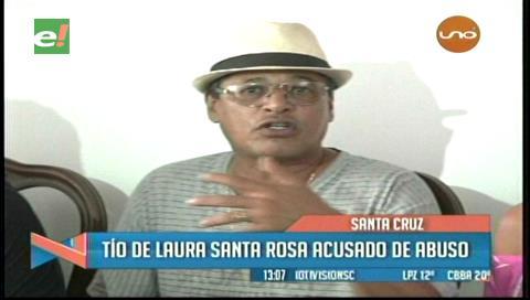 Tío de Laura Santa Rosa es acusado de abuso sexual