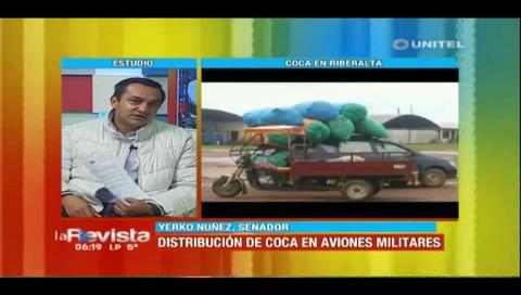 Piden al ministro Ferreira un informe sobre el uso de aviones de las FFAA para trasladar coca