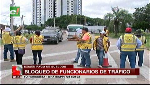 Funcionarios de Tráfico y Transporte denuncian deuda de 3 meses de sueldo