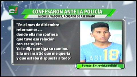 Confesión de los asesinos de Ronny Perrogón