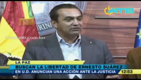 UD presentará acción de libertad para Ernesto Suárez