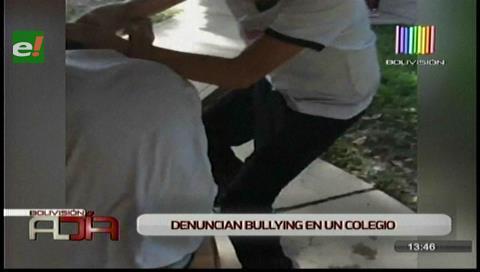 Defensoría investiga caso de 'bullying' dentro de un colegio en Santa Cruz