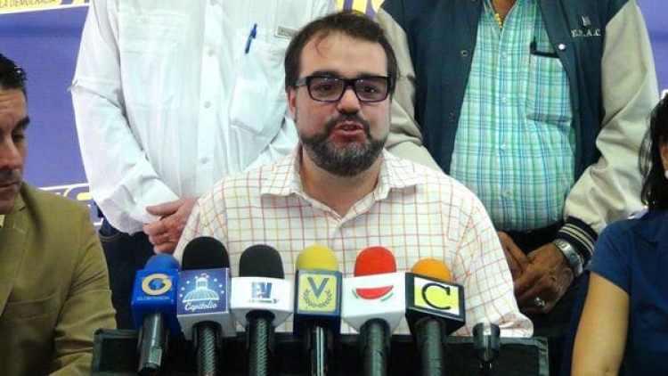 José Ignacio Guédez, secretario de la Asamblea Nacional de Venezuela