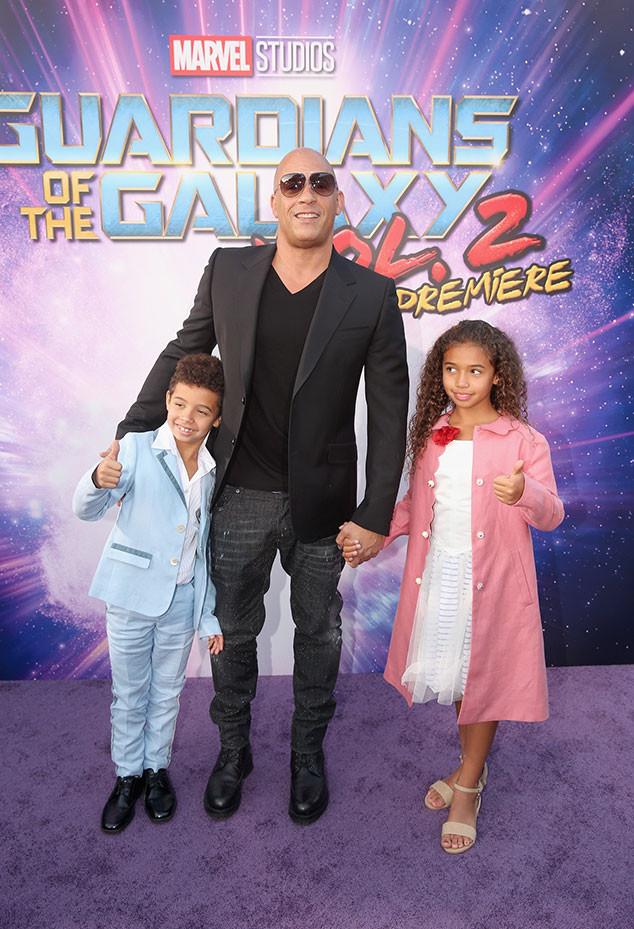 Vin Diesel, Guardians of the Galaxy Vol. 2 Premiere
