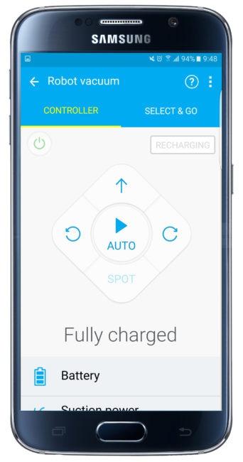 Interfaz de Samsung Smart Home