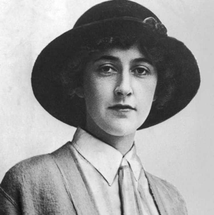 Agatha Christie en 1936. Según su biógrafo estaba en una profunda depresión