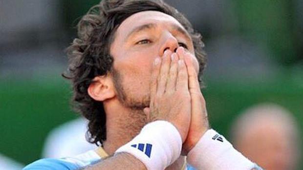 Mónaco se retiró del tenis