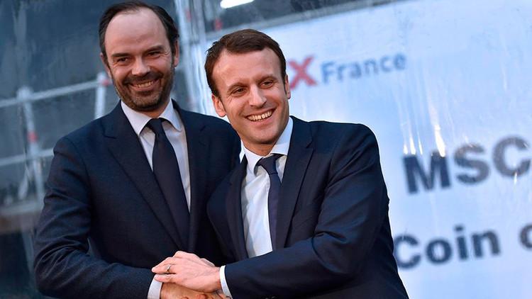 Macron nombra como jefe de Gobierno de Francia al conservador Edouard Philippe