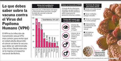 Lo que debes saber sobre la vacuna contra el VPH. Infografía: Federico Martínez