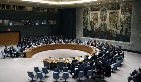 Sesión del Consejo de Seguridad de la ONU en su sede de EEUU. Foto: Archivo EFE