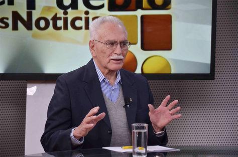 El Presidente del Banco Central de Bolivia (BCB), Pablo Ramos Sánchez, explica en el programa 'El Pueblo es Noticia'.