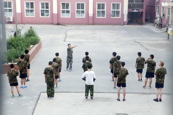 Formación estándar durante los entrenamientos en el centro. Foto: Giulia Marchi.