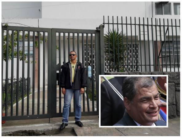 Expresidente Rafael Correa tiene neumonía, según fuentes médicas