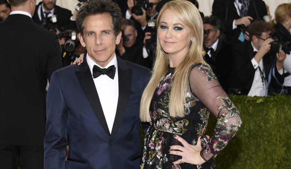 Ben Stiller y su esposa Christine Taylor, en una imagen de mayo de 2016.rn