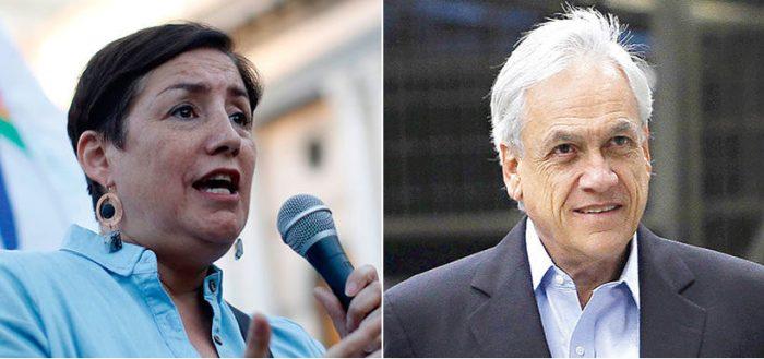 La disputa de Piñera con el Frente Amplio por la demanda marítima