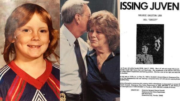 Christy Luna tenía 8 años cuando desapareció del tranquilo vecindario de Greenacres, en Palm Beach, Florida