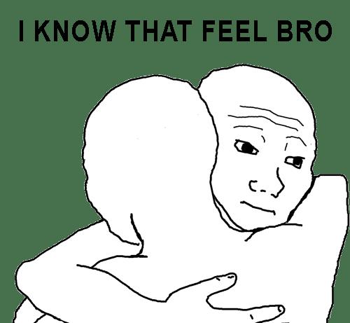 i know that feel bro meme