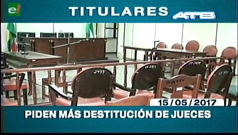Video titulares de noticias de TV – Bolivia, mediodía del lunes 15 de mayo de 2017