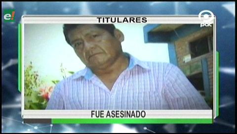 Video titulares de noticias de TV – Bolivia, noche del jueves 18 de mayo de 2017