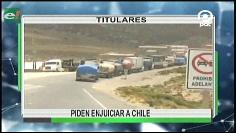 Video titulares de noticias de TV – Bolivia, noche del viernes 26 de mayo de 2017