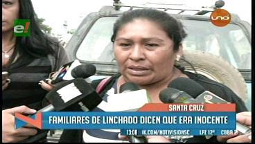 """Esposa de Pizarro: """"Llevaré su cuerpo a San Julián, aunque me linchen"""""""