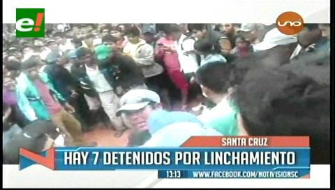 Siete detenidos por el linchamiento en San Julián