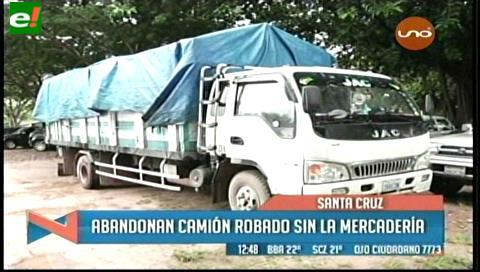 Delincuentes atracan un camión con mercadería de electrodomésticos