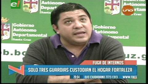 Gobernación cruceña gestionará seguridad para el Hogar Fortaleza