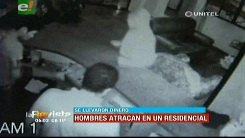 Dos sujetos atracaron un residencial en la avenida Brasil
