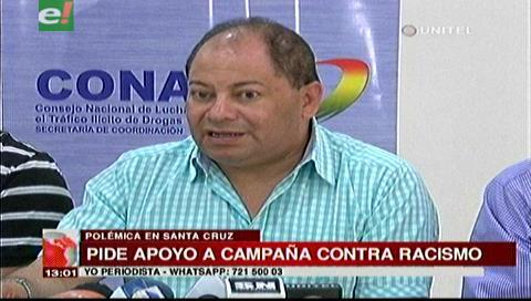 Ministro Romero apoya a la ministra de Comunicación en su campaña contra el racismo