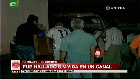 San Carlos: Funcionario municipal es hallado muerto en una canal de drenaje