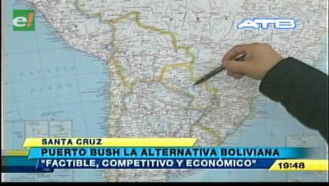 Puerto Busch es una alternativa para exportaciones bolivianas, según empresarios