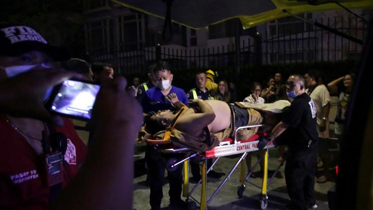 Encuentran 34 cadáveres dentro del hotel de Filipinas que fue atacado por un hombre armado