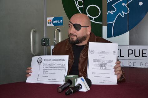 El defensor del Pueblo, David Tezanos Pinto, en conferencia de prensa. Foto: Defensoría del Pueblo