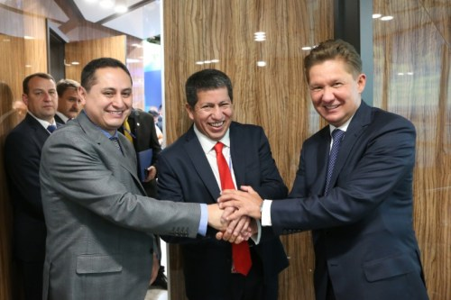 Gazprom to stimulate dynamic growth of Bolivia's energy market