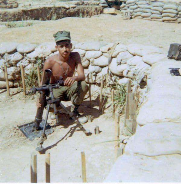 El marine Ronald Reyes murióel 30 de marzo de 1968 en Khe Sanh. Su hijo Ron Reyes participa en las reuniones degenteque perdió a sus padres en la Guerra de Vietnam. (Foto de la familia)