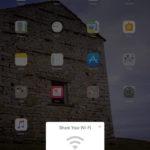 Función de iOS 11 para compartir la contraseña WiFi de una red inalámbrica