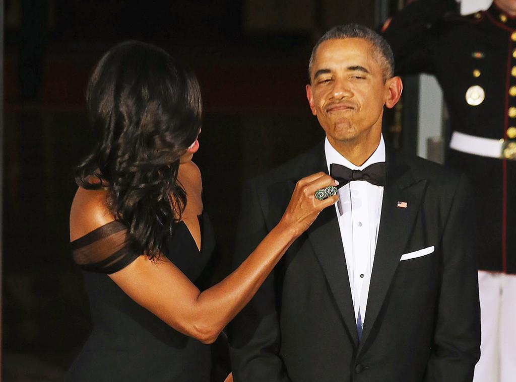 President Barack Obama, Michelle Obama, Tuxedos