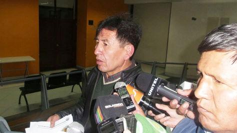 José Luis Álvarez en instalaciones de la Defensoría del Pueblo