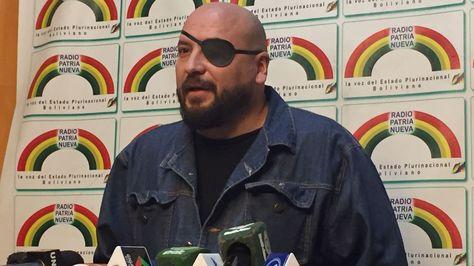 El Defensor del Pueblo, David Tezanos, en conferencia de prensa
