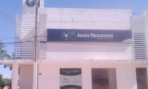Frontis de la cooperativa Jesús Nazareno de Guayaramerín.