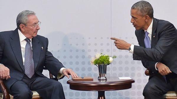Barack Obama y Raúl Castro acordaron el histórico deshielo en las relaciones entre EEUU y Cuba