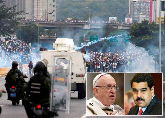 El Papa Francisco abogó por el diálogo y por elecciones en Venezuela. El sumo pontífice dijo que mantiene su posición de buscar soluciones a la crisis que ha dejado muertos y heridos en ese país.