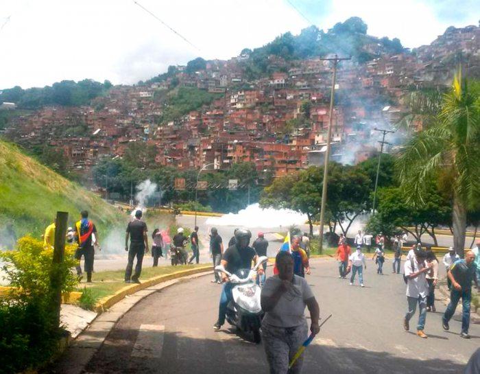 REPRESIONES VIOLENTAS EN VENEZUELA.