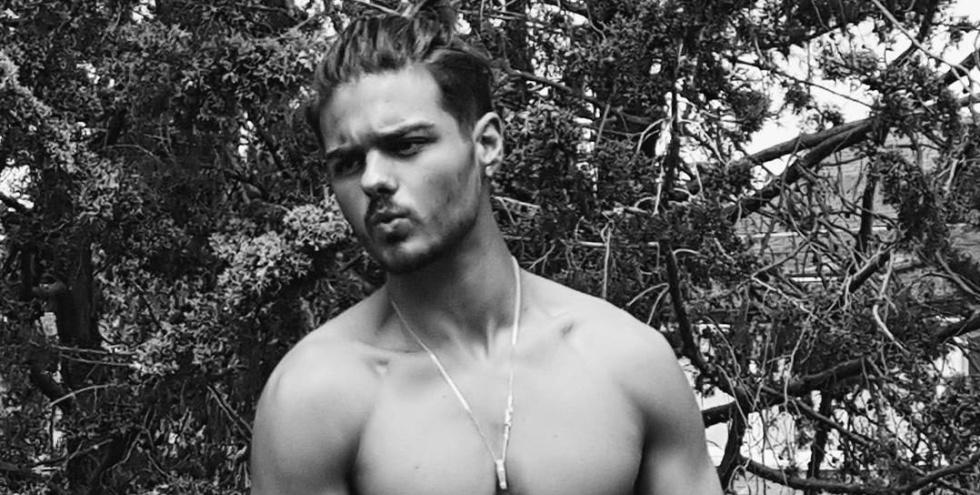 Abraham Mateo, en una de las fotos más recientes publicadas en su Instagram.